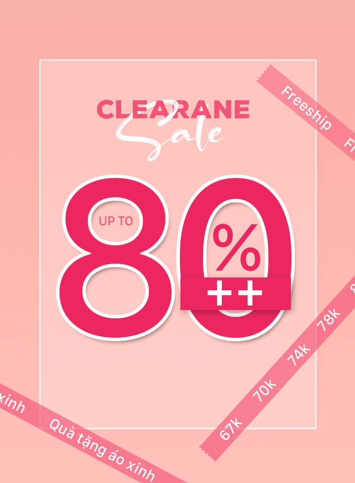 SALE UP TO 80%
